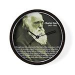 Charles Darwin: Science Wall Clock