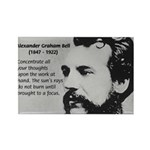 Alexander Graham Bell Rectangle Magnet