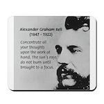 Alexander Graham Bell Mousepad