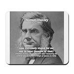 Thomas Huxley and Darwin Mousepad