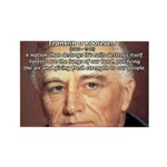 American President FDR Rectangle Magnet