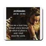 Greek Mathematician: Archimedes Mousepad