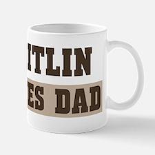 Caitlin loves dad Mug