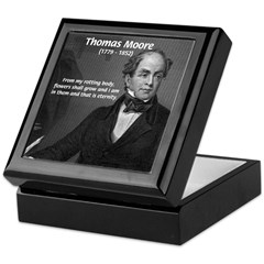 Eternal Poetry Thomas More Keepsake Box