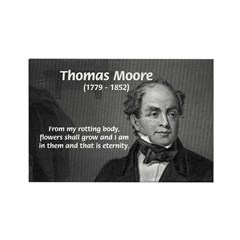 Eternal Poetry Thomas More Rectangle Magnet
