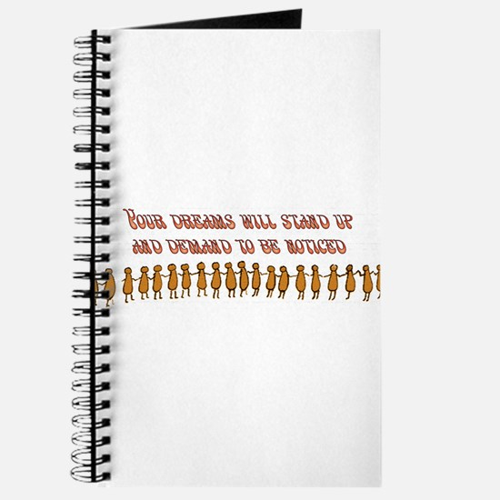 Your Dreams Demand Journal