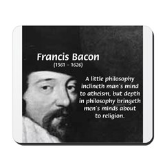 Philosopher Francis Bacon Mousepad