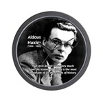 History Aldous Huxley Wall Clock