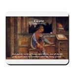 Cicero: God Nature Mousepad