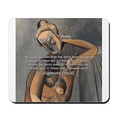 Freud Female Sexuality Mousepad