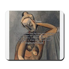 Freud Female Sexuality Mousepad