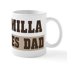 Camilla loves dad Mug