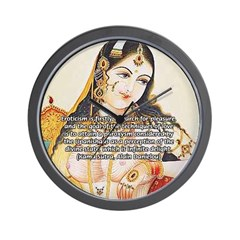 Sex Quote: Kama Sutra Art Wall Clock
