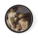 Wilson: Love Sex Correggio Wall Clock