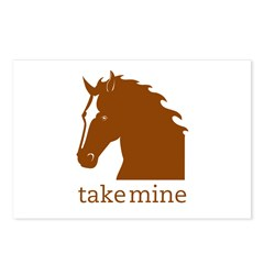 Take mine Postcards (Package of 8)