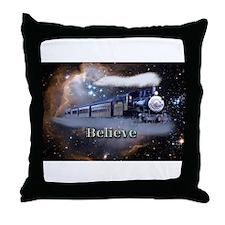 Cute Trains Throw Pillow