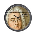 Handel's Messiah Wall Clock