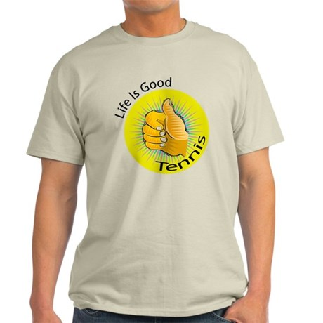 Life is Good Tennis Light T-Shirt
