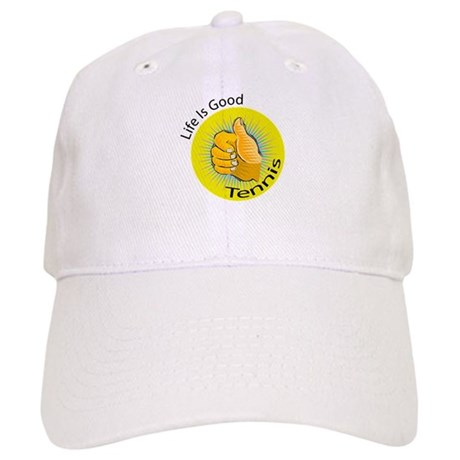 Life is Good Tennis Cap