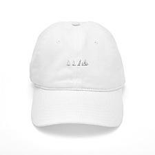 4 Sailboats (untitled) Baseball Cap