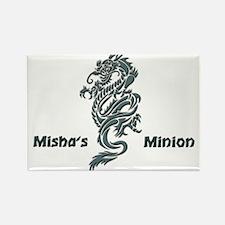 Misha's Minion - 1 Rectangle Magnet