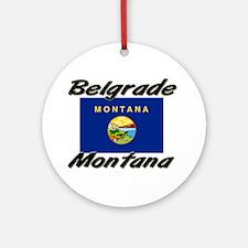Belgrade Montana Ornament (Round)