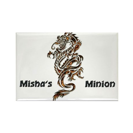 Misha's Minion - 2 Rectangle Magnet