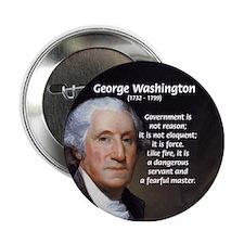Politics: George Washington Button