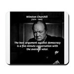 Sir Winston Churchill Mousepad
