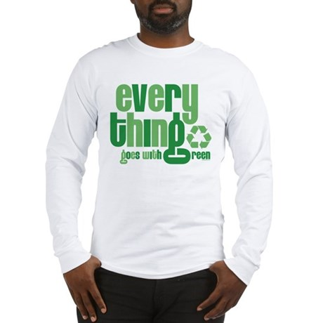 Everything Green Long Sleeve T-Shirt