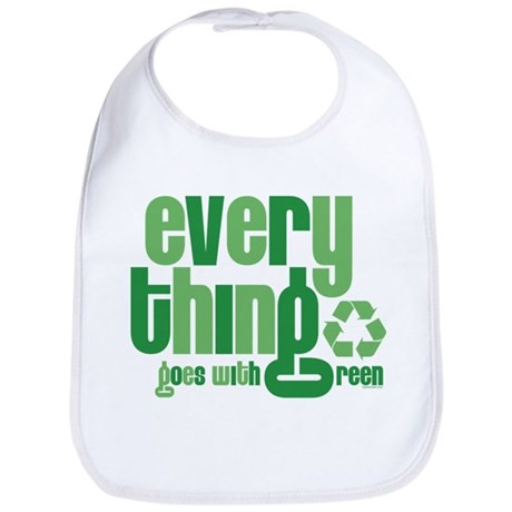 Everything Green Bib