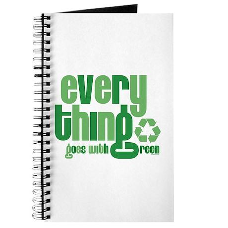 Everything Green Journal