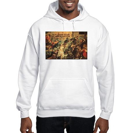 Anais Nin on Baroque Art Hooded Sweatshirt