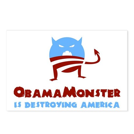Destroying America Postcards (Package of 8)