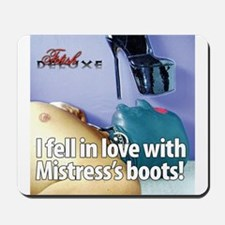 Boot Worship Mousepad