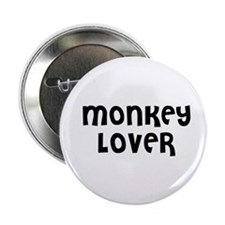 MONKEY LOVER Button