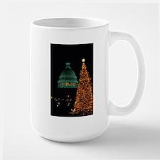 Large Mug-XMAS IN WASHINGTON