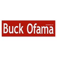 Buck Ofama Bumper Car Sticker