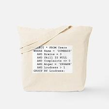 SQL Tote Bag