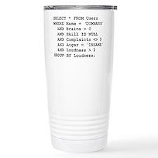 SQL Travel Coffee Mug