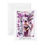 'Capricorn' Greeting Cards (Pk of 10)