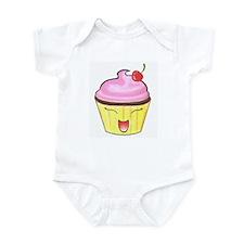 Lil' Happy Cupcake Infant Bodysuit
