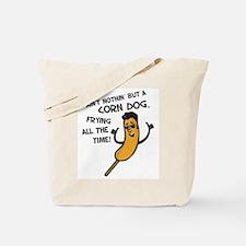 Cute Corn dog Tote Bag