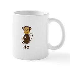 Monkey See Monkey Do Small Mug