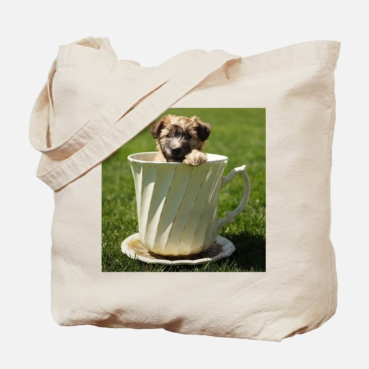 Cuppa Puppy Tote Bag