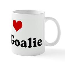 I Love the Goalie Mug
