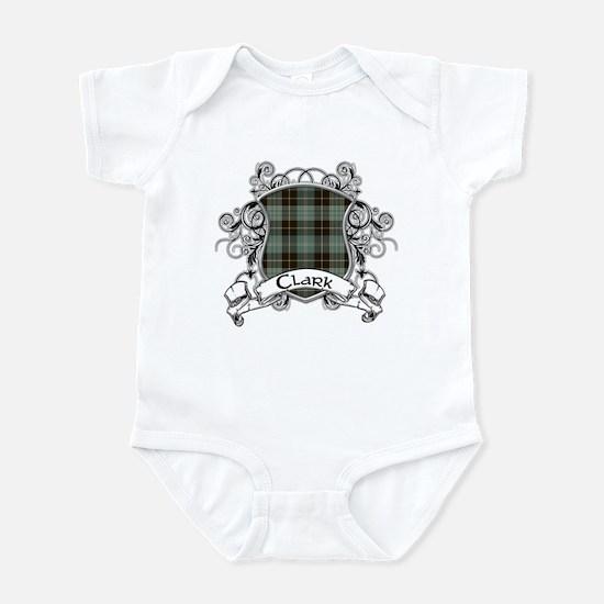 Clark Tartan Shield Infant Bodysuit