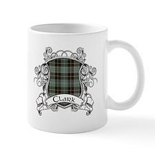 Clark Tartan Shield Mug