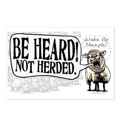 Be Heard Activist Protest Postcards (Package of 8)