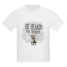 Be Heard Activist Protest T-Shirt